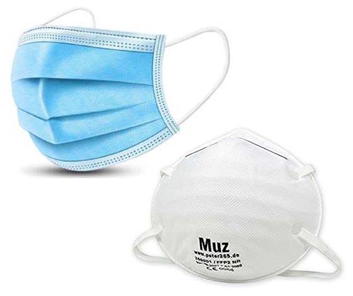 dispositivi di protezione covid-19 - mascherine monouso e mascherine FFP2